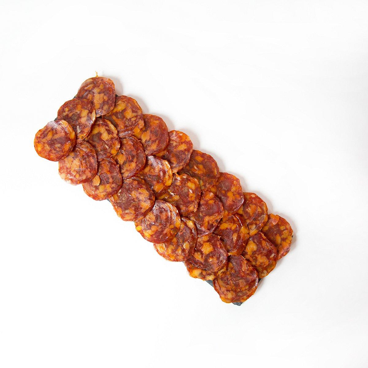 Chorizo Cular de Bellota Loncheado