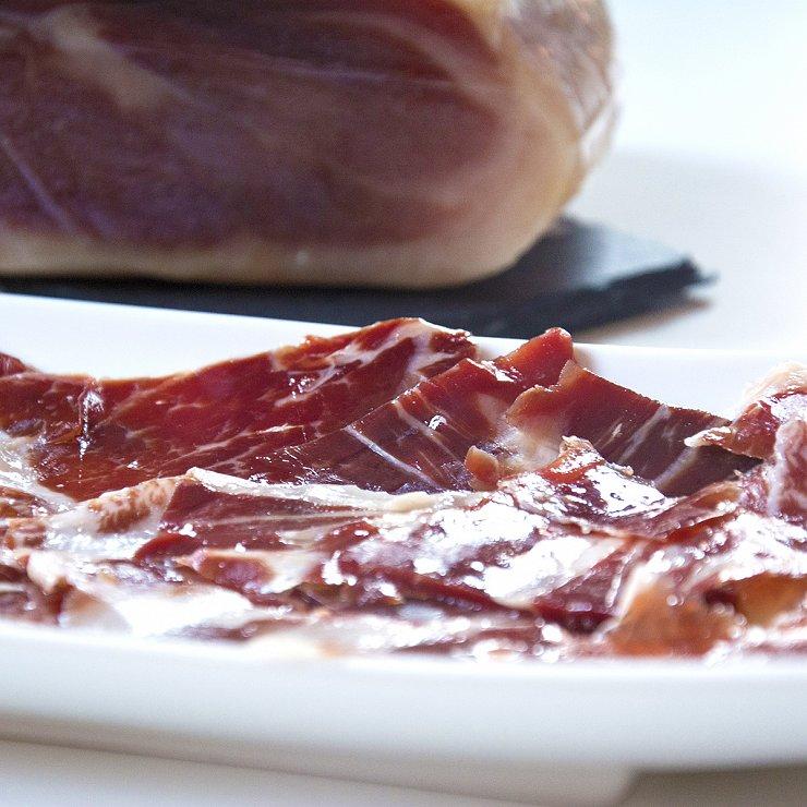 Hand-cut Iberico ham