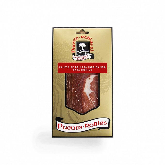 Paleta de bellota ibérica 50% raza ibérica loncheada