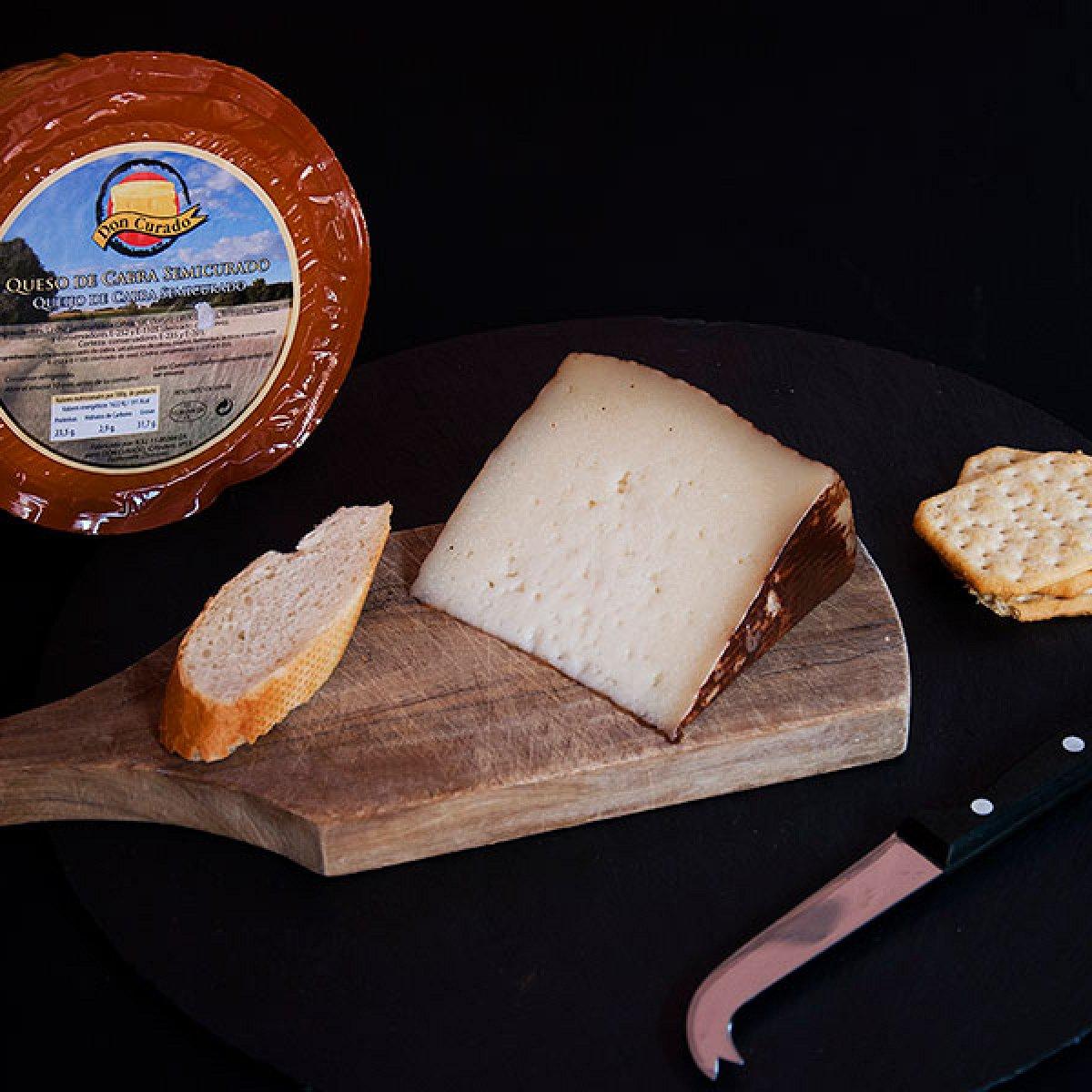 Semimatured Goat Cheese