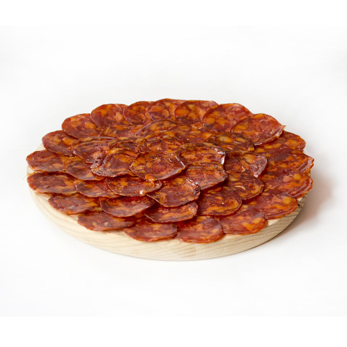 Acorn-Fed Thick-Casing Chorizo - Sliced